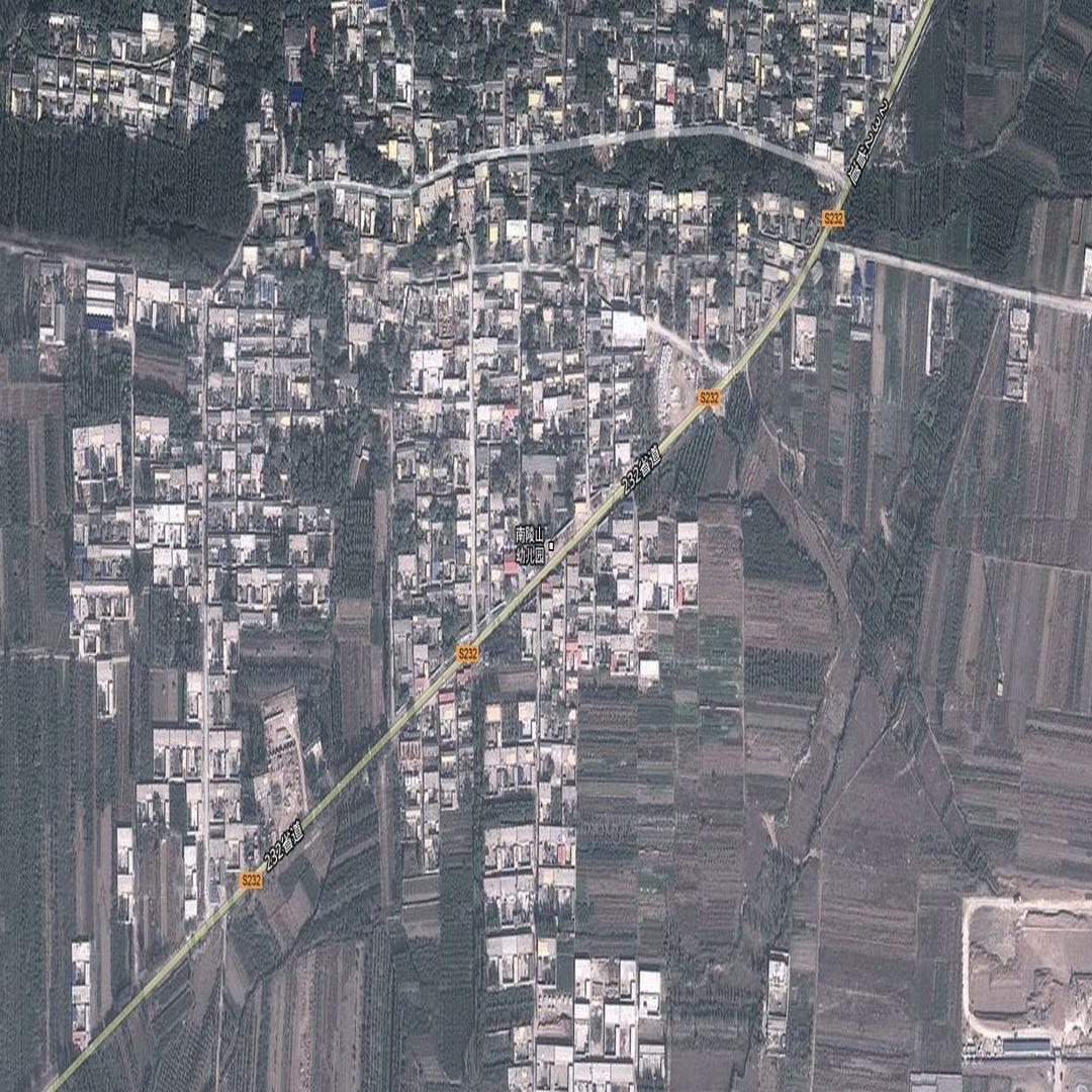 谷歌地圖南陵山村